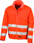 Result – High-Vis Soft Shell Jacket for embroidery and printing