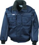 Result – Workguard Heavy Duty Jacket for embroidery and printing
