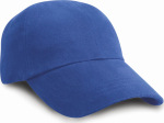 Result – Junior Heavy Brushed Cotton Cap for embroidery