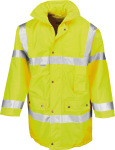 Result – Safety Jacket for embroidery and printing