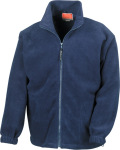Result – Active Fleece Jacket zum besticken