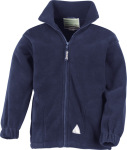 Result – Junior Active Fleece Jacket for embroidery