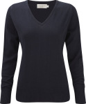 Russell – Ladies´ V-Neck Knitted Pullover hímzéshez