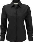 Russell – Ladies´ Long Sleeve Poly-Cotton Easy Care Poplin Shirt for embroidery and printing