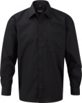 Russell – Men´s Long Sleeve Poly-Cotton Easy Care Poplin Shirt for embroidery and printing