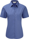 Russell – Ladies´ Short Sleeve Pure Cotton Easy Care Poplin Shirt for embroidery and printing