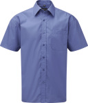 Russell – Men´s Short Sleeve Pure Cotton Easy Care Poplin Shirt for embroidery and printing