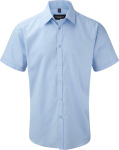Russell – Mens Herringbone Shirt Shortsleeve for embroidery and printing