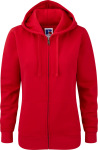 Russell – Ladies Authentic Zipped Hood zum besticken und bedrucken