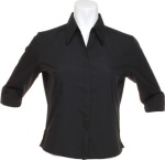 Kustom Kit – Poplin Continental Blouse ¾ Sleeve for embroidery and printing