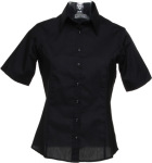 Kustom Kit – Women´s Business Poplin Shirt Short Sleeve for embroidery and printing