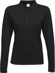 Tee Jays – Ladies Stretch Long Sleeve Polo zum besticken und bedrucken