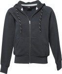 Tee Jays – Ladies Hooded Zip-Sweat zum besticken und bedrucken