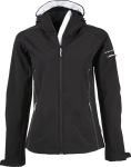 Tee Jays – Ladies Hooded Fashion Softshell Jacket zum besticken und bedrucken