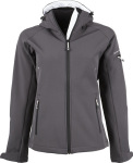 Tee Jays – Ladies Hooded Fashion Softshell Jacket for embroidery and printing