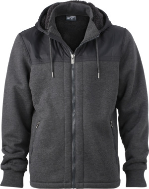 James & Nicholson – Men's Hooded Sweat Jacket