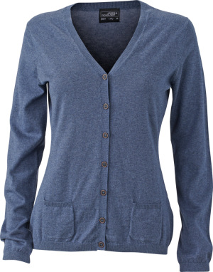 James & Nicholson – Ladies' Cardigan