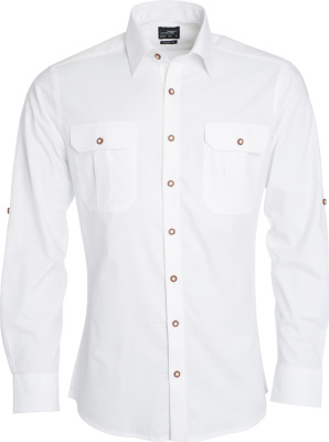 James & Nicholson – Men's Traditional Shirt Plain