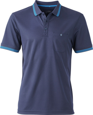 James & Nicholson – Mens' Funktions Polo