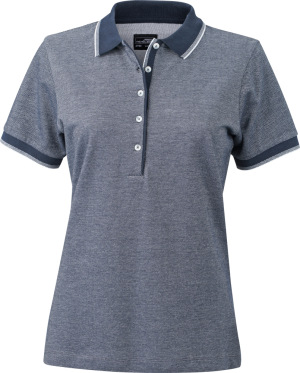 James & Nicholson – Damen Piqué Polo bicolor