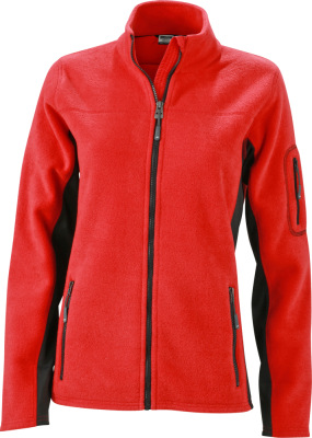 James & Nicholson – Damen Workwear Microfleece Jacke