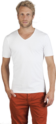 Promodoro – Men's Slim Fit V-Neck-T
