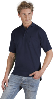 Promodoro - Men's Heavy Polo Pocket (navy)