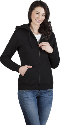Promodoro - Women's Hoody Jacket 80/20 (black)