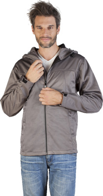Promodoro – Men's Hoody Softshell Jacket
