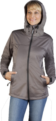 Promodoro – Women's Hoody Softshell Jacket