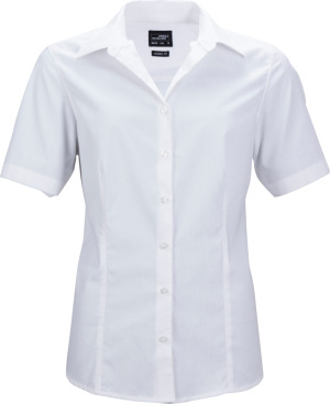 James & Nicholson – Ladies' Business Popline Shirt shortsleeve