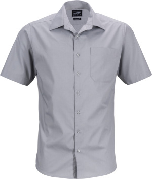 James & Nicholson – Men's Business Popline Shirt shortsleeve