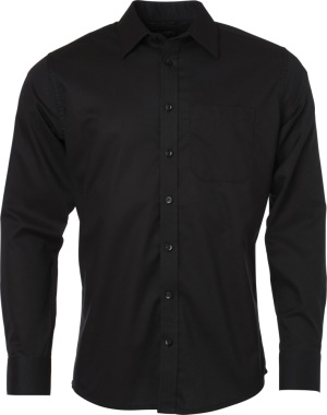 James & Nicholson – Oxford Shirt longsleeve