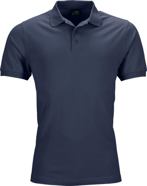James & Nicholson - Herren Stretch Piqué Polo (navy)