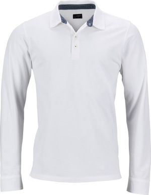 James & Nicholson – Men's Piqué Polo longsleeve