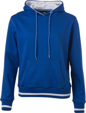 James & Nicholson – Ladies' Club Hooded Sweat