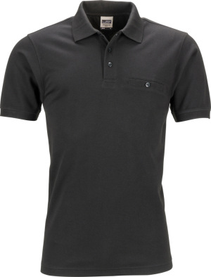 James & Nicholson – Men´s Workwear Polo Pocket