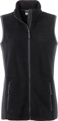 James & Nicholson – Ladies' Workwear Fleece Vest