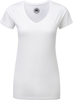 Russell – Ladies' V-Neck HD T-Shirt