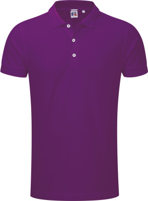 Russell – Herren Piqué Stretch Polo