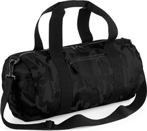 BagBase – Camo Barrel Bag