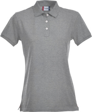 Clique - Stretch Premium Polo Ladies (Graumeliert)