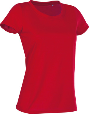 Stedman - Damen Sport Shirt (crimson red)