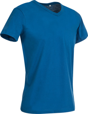 Stedman - Herren V-Neck T-Shirt (king blue)