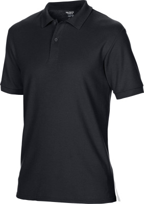 Gildan - Herren Double Piqué Polo (black)