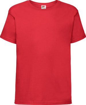 Fruit of the Loom - Kinder Softspun T-Shirt (red)