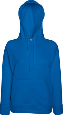 Fruit of the Loom - Lady-Fit Lightweight Hooded Sweat (Royal Blue)