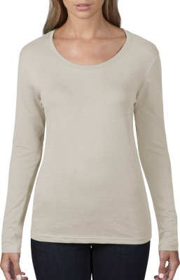 Anvil – Ladies Sheer LS Scoop Tee