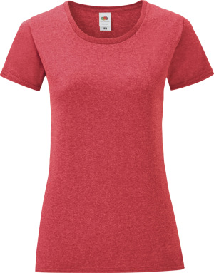 Fruit of the Loom – Damen T-Shirt Iconic