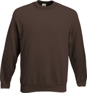 Fruit of the Loom - Premium Set-In Sweat (Chocolate)